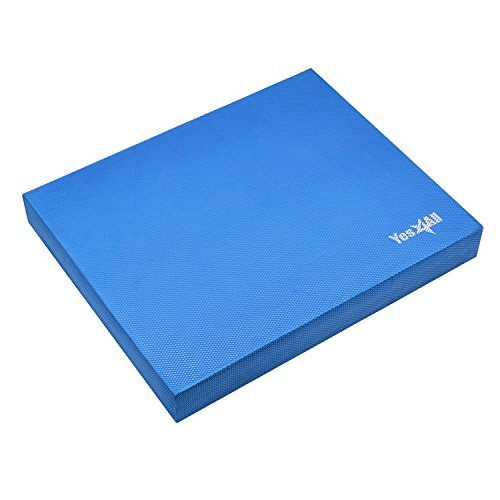 Yes4All Balance Pad Large - Exercise Foam Cushion (Blue)