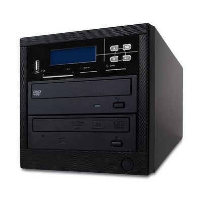 Spartan MD-8001 All-in-One Back Up Center 1 Target DVD Duplicator (MS,CF SD MMC USB Slot) by Spartan