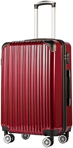 COOLIFE Luggage Expandable Suitcase Spinner product image