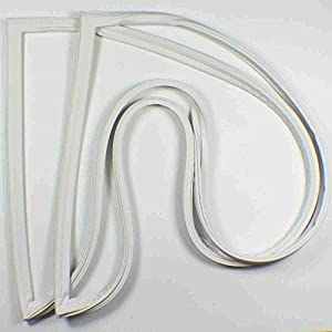 419CgHiaioL._SY300_ amazon com whirlpool refrigerator door gasket seal 2188433a home  at fashall.co