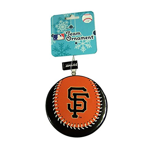 San Francisco Giants Official MLB 4 inch Foam Christmas Ball Ornament by Forever Collectibles 241251