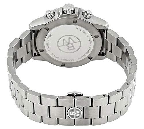 Raymond Weil Tango kvarts klocka, silver, 43 mm, kronograf, 8570-ST3-65501