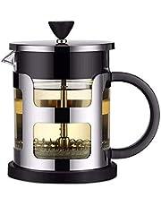 Sdesign Cafetera, Acero Inoxidable Cafetera Pot café de Filtro Filtros, café Goteo Pot - portátil for la Cocina del hogar Oficina Uso al Aire Libre