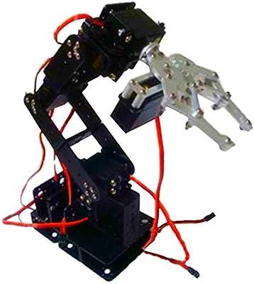 WiFi Control Kit Hot Smart Robot Full Metal S6 6 Degree of