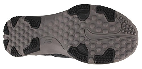 Pictures of Skechers Larson Bolten Men's Slip On Variation Black / Charcoal 2
