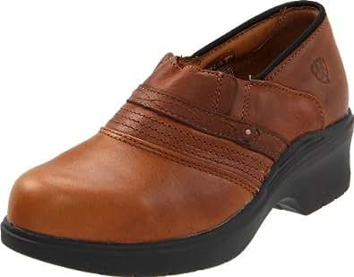 Ariat Women's Steel Toe Safety Clog, Golden Brown, 5.5 M US