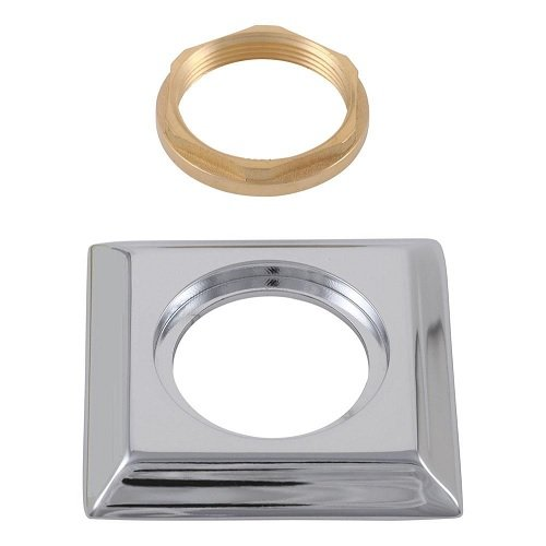 Delta RP53410 Dryden Handle Base, Gasket and Nut, Chrome Dryden Handle Base