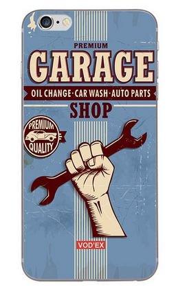Coque Iphone 6 ou 6s Vintage Garage (livraison gratuite en France)