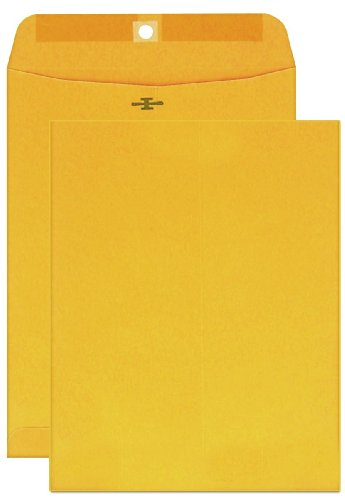 (Columbian Clasp Envelopes, 6 x 9 Inches, Brown Kraft, 100 Per Box (CO955))