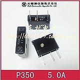 Davitu [SA]Japan's Big East Big East alarm fuse - P350 5A 220V 250V-10PCS/LOT