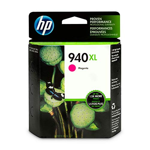 HP 940XL Magenta Ink Cartridge (C4908AN)