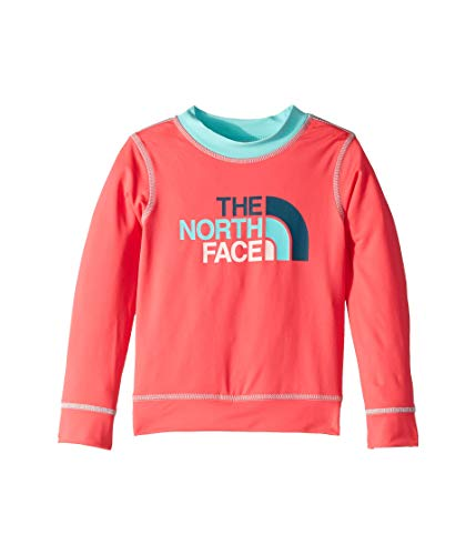 The North Face Toddler Long Sleeve Hike/Water Tee, Atomic Pink, Size 5T