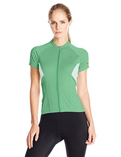 Shorts Sleeve Ride Short (Pearl iZUMi Women's Elite Escape Short Sleeve Jersey, Green Spruce, Small)