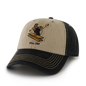Pittsburgh Steelers 47 Brand NFL Yosemite Vintage Wash Adjustable Hat -  Black  Amazon.co.uk  Sports   Outdoors 7185b237fc5