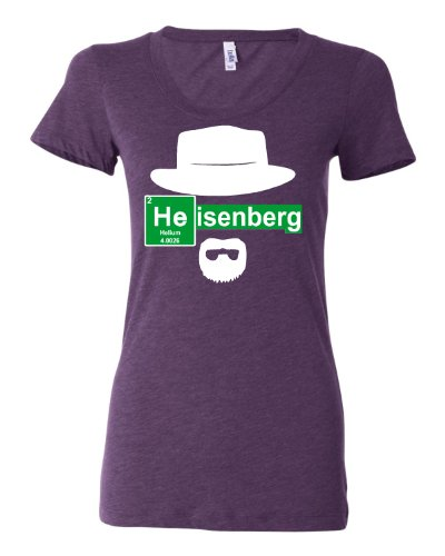 XX-Large Purple Womens Elemental Green Heisenberg Tri-Ble...