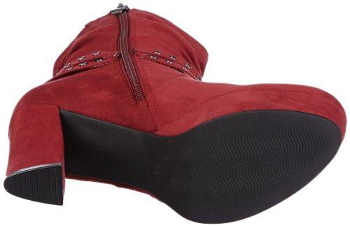 Marco Tozzi 2-2-25075-39, Bottes Classiques femme Rouge - Rot (Cranberry 515)