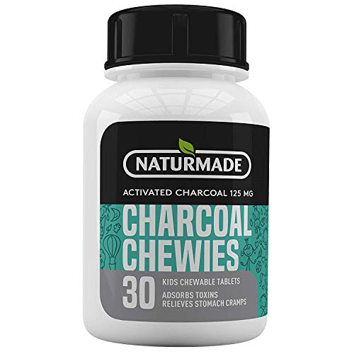Activated Charcoal Tablets for Kids.