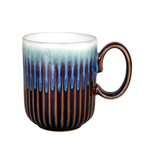 - Denby Amethyst Fluted Mug, Medium, Multicolor