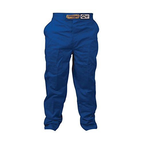 Black Racing Pants Only, SFI-1, Large by Speedway Motors