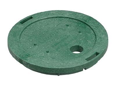 "Orbit 6"" Round Sprinkler System Valve Box Lid - Green"