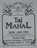 Taj Mahal Witchita Kansas Concert Poster Handbill Flyer