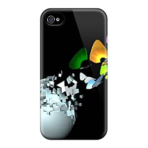 New Arrival Premium 6 Cases Covers For Iphone (3d Butterflies)