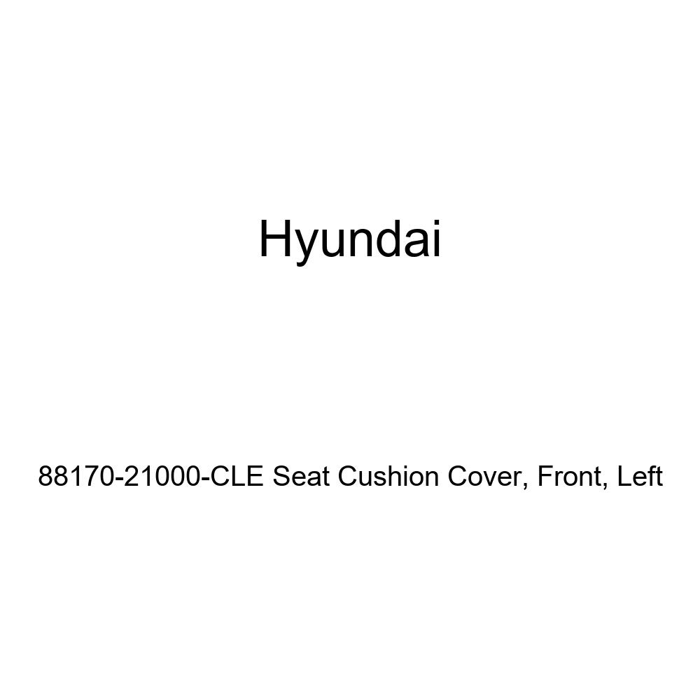 Left Genuine Hyundai 88170-21000-CLE Seat Cushion Cover Front