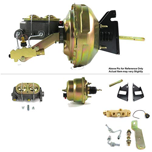 Helix Suspension Brakes and Steering HEXBBK7AFB2 73-87 Chevy Squarebody Truck FW Mount Power 7