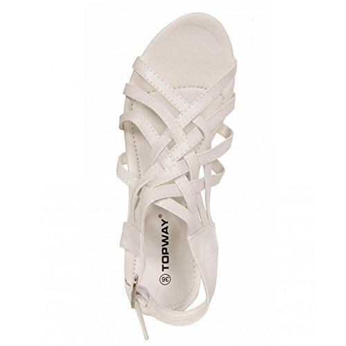 Sandali Per Donna Urban B040880-b7200 White Taille-carte 40