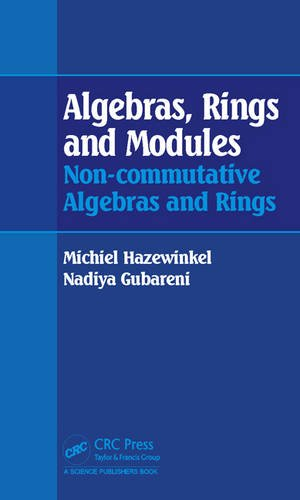 Algebras, Rings and Modules: Non-commutative Algebras and Rings