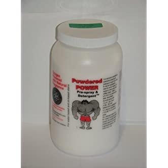 Powdered Power Pre Spray and Detergent