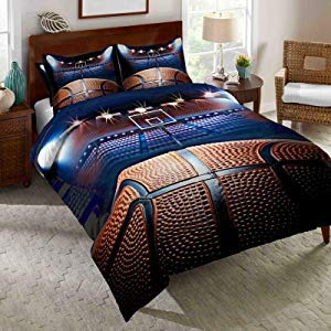 SHINICHISTAR Basketball Boys Comforter Set Twin Bedding Sports Style