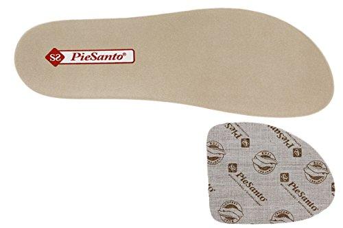 Negro PieSanto Piel Plantare Comfort Donna estradibile Scarpe 180802 Sandali zUzxqwZv