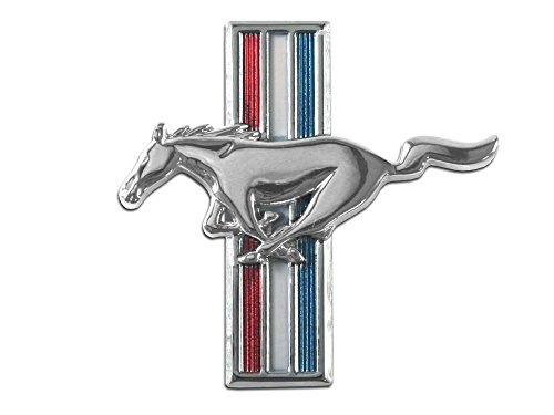 (Mustang Fender Emblem Running Horse LH 1964 1/2 - 1968)
