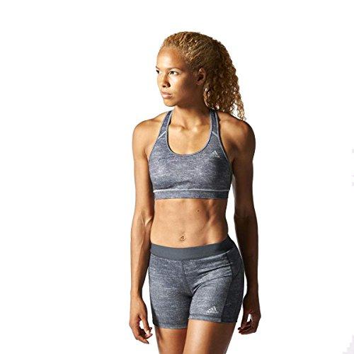 adidas TechFit Women's Bra - AW15 - X Small - Grey ()