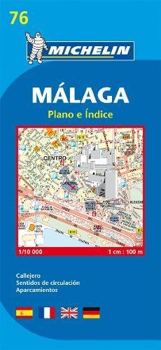 Malaga - Michelin City Plan: City Plans (Planos Michelin)