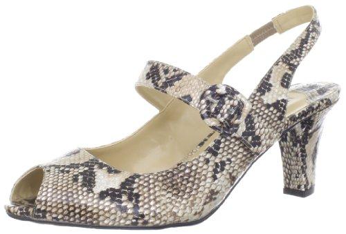 J. Renee Women's Lanna Slingback Sandal Beige Multi