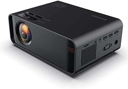 HONGFUTONG Mini proyector, Pantalla 1080P y 126, proyector de ...