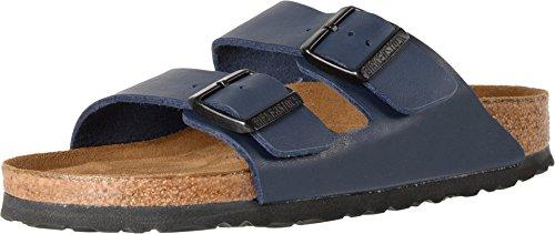 Birkenstock Unisex Arizona Blue Birko Flor Sandals - 7-7.5 B(M) US Wome