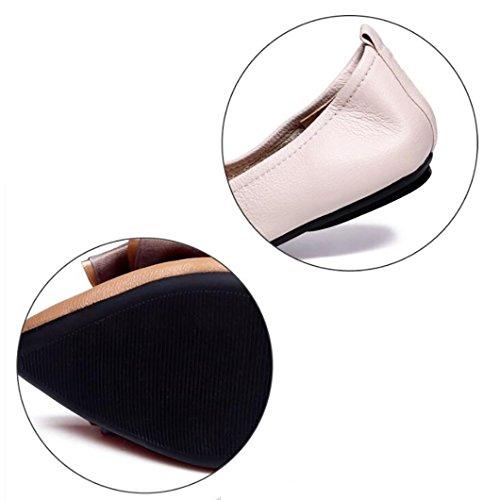 del Arco de de Comodidad Mujer Casuales Zapatos Pisos Zapatos A Mujer Bombas qI6tnn1w