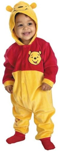 Baby Pooh Monitor The Winnie (Winnie The Pooh Costume - Baby 12-18)