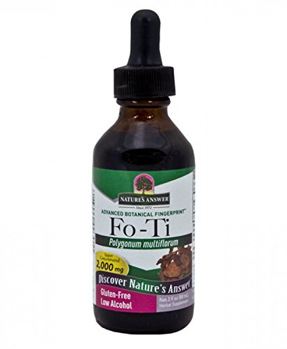 Nature's Answer Fo-Ti Root with Organic Alcohol, 2-Fluid Ounces
