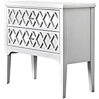 HOMES: Inside + Out IDF-AC505 Reyna Hallway Cabinet, White