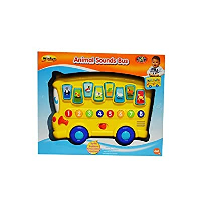 WinFun Animal Sounds Bus: Toys & Games