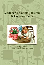 Gardener's Planning Journal & Coloring Book
