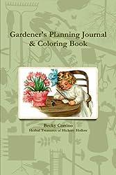Gardener's Planning Journal & Coloring Book
