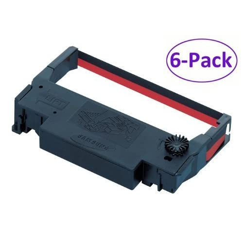 Nice Bixolon Ribbon Cartridge - Black, Red - Dot Matrix, 6-Pack for sale ywkdiqKT