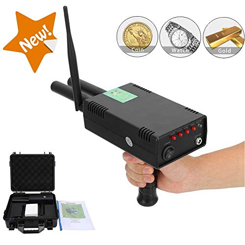 Underground Metal Detector, Professional Efficient Underground Metal Detector Pinpointer Device Gold Detecting Tools Treasure Finder with Remote Search and Precise Positioning Detection System(US)