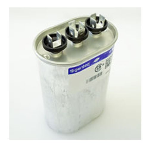 - 97F9028 - 50 + 5 uf MFD 370 Volt VAC - GE Oval Dual Run Capacitor Upgrade