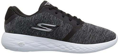 Skechers Heren Gaan Draaien 600-omleiding Sneaker Zwart / Wit
